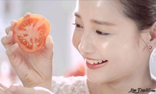 Làm đẹp da, chống lão hóa bằng nước ép cà chua