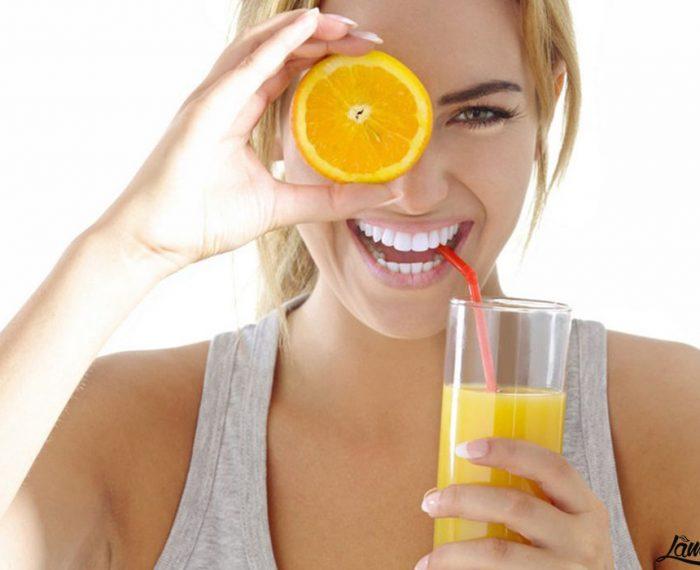 Tác dụng của nước cam với làn da