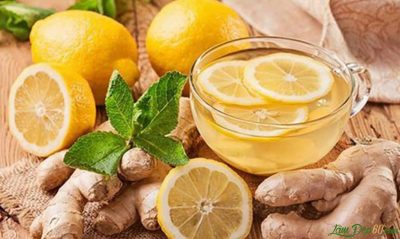 Giảm cân với trà chanh - gừng hiệu quả tại nhà